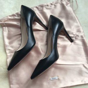 PRADA pumps, 7 1/2 brand new black pointy toe heel